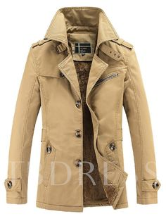 Liengoron Mens Vintage Stand Collar Plus Locomotive PU Leather Long Slim Jacket