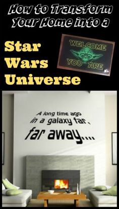 Want to add some Star Wars touches to your home?  This is an awesome list of the best home decor & fun items for Star Wars fans!  #eBayGuides2016 #ad #CG