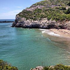 Cala Morisca à Garraf, Cataluña