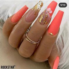 Nail Designs Bling, Nail Art Designs, Give It To Me, Make Up, Gelish Nails, Long Acrylic Nails, Nagel Gel, Hair And Nails, Hair Makeup