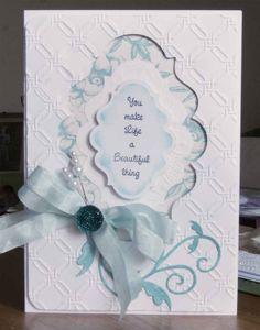 A Spellbinders card                                                                                                                                                                                 More
