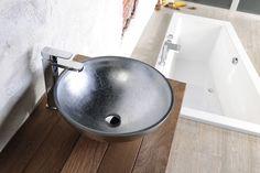 MURANO skleněné umyvadlo 40x13, stříbrné (AL5318-52) | Murano - skleněná umyvadla | Pro koupelnu.cz - eshop koupelnového studia