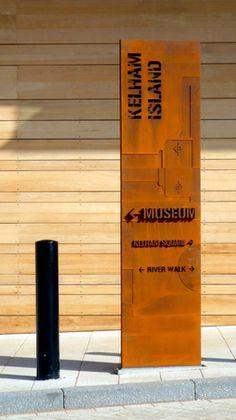 Kelham Island Museum signage | Chris Brammall | ESI External Works