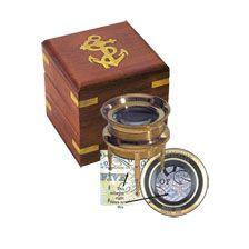 Die Lupe von Captain Cook        bestellen - THE BRITISH SHOP - typisch englisches Produkt 'very british'