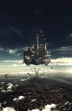 Running Like Clockwork: Steampunk Art to Inspire You | Psdtuts+