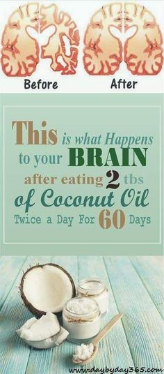 MUST READ and WATCH!!! This is what Happens to your Brain after eating 2 tbs of Coconut Oil Twice a Day For 60 Days.