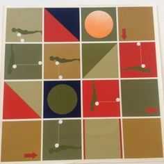 #PopArt #Modernist #ArtistSigned #ErnestTrova #FallingMan #Silkscreen #c1967
