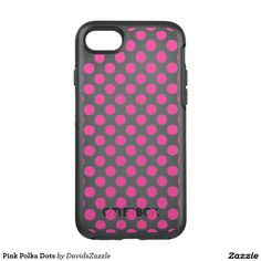Pink Polka Dots Phone Case Available on many products! Hit the 'available on' tab near the product description to see them all! Thanks for looking!  @zazzle #art #polka #dots #shop #iphone #case #phone #electronic #accessory #accessories #fashion #style #women #men #shopping #buy #sale #gift #idea #samsung #galaxy #apple #mac #ipad #tablet #computer #lifestyle #fun #sweet #cool #neat #modern #chic #laptop #sleeve #ipad #pink #white