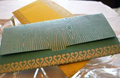 "6""X3"" Screen Printed Envelope #3 Silver"