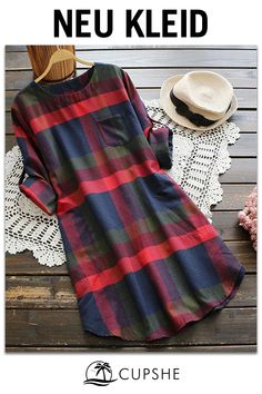 30 Chic Fall Outfit Ideas – Street Style Look. 34 Fresh Street Style Outfits Every Girl Should Try – 30 Chic Fall Outfit Ideas – Street Style Look.Cupshe Walk the Shine Plaid Dress Product Code: Details: Plaid pattern Zip&Pocket at side Regular wash Fall Outfits, Cute Outfits, Check Dress, Mode Hijab, Plaid Dress, Shirt Dress, Flannel Dress, Shift Dress Outfit, Tunic Shirt