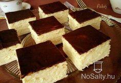 Skót krémes (citromos is lehet) Hungarian Desserts, Romanian Desserts, Hungarian Recipes, Sweet Cookies, Sweet Treats, Czech Desserts, Cookie Recipes, Dessert Recipes, Smoothie Fruit