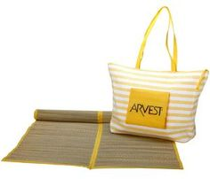 Worthy Beach Bag with Mat (Yellow) (Synthetic Fiber, Stripe) Top Christmas Gifts, Striped Bags, Linen Store, Beach Tote Bags, Bath Linens, Purse Styles, Online Bags, Luggage Bags, Pouch