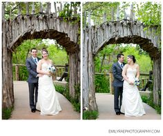 Bride And Groom May Wedding At Meijer Gardens Grand Rapids Spring Emily