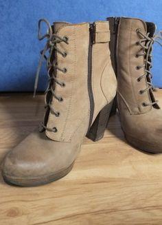 Kup mój przedmiot na #vintedpl http://www.vinted.pl/damskie-obuwie/botki/10429861-bezowe-botki-na-slupku-ccc-37