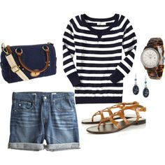 Sailing outfits. because i go sailing a lot. nope. I don't!