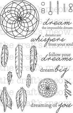 Dream Catcher Dream Catcher Coloring Pages, Dream Catcher Drawing, Colouring Pages, Atrapasueños Tattoo, Dreamcatcher Design, Feather Cards, Impossible Dream, Ink Addiction, All Things Cute