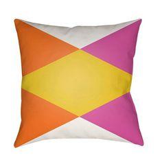Modern Multicolor 20 x 20-Inch Pillow