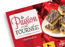 Automne Livrets de recette 2010- Find yummy recipes in the latest Robin Hood Recipe Booklet