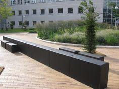 Ved Novo Nordisk har vi leveret elementer fra Cirkelserien i sort beton Novo Nordisk, Aarhus, Sorting, Garage Doors, Outdoor Decor, Design, Home Decor, Decoration Home, Room Decor