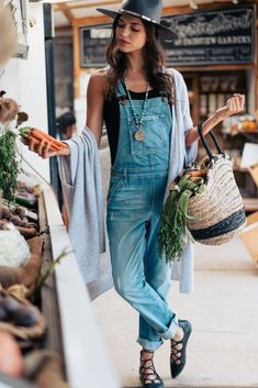 overalls #style #fashion