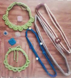 Tarde de bloqueo ... lanero, por supuesto !!! 😀😀😀, encargos que salen y pruebas para futuros proyectos que van viendo la luz.  Si te gusta… Crochet Necklace, Jewelry, Instagram, I Like You, Hand Made, Blue Prints, Jewlery, Jewerly, Schmuck