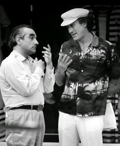 Robert de niro and Martin scorsese in Cape Fear