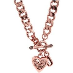 rose gold Juicy Couture