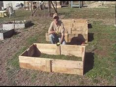 This video shows how we build our raised beds using re-claimed pallet wood.  Please use this youtube account for future videos.  We have lost our password for the other youtube account and can't post of update there any longer.    If you like this video, give us a thumbs up.  Please feel free to share this video with friends and Family.    Look for ...
