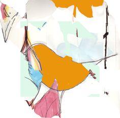 #illustration #print #bird #collage #pastel #pastels #design #designer #illustrator #handdrawn #drawing #photoshop