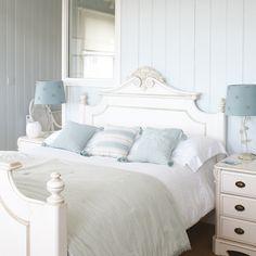 como azul é minha cor favorita, não tem como eu não gostar desse quarto!!