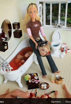 serial killer barbie  Barbie just got that much cooler :B