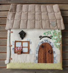 "Hogar - Kit Cuadro cuelga llaves ""Casa de campo"" - hecho a mano por linlin-shop en DaWanda"