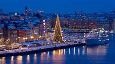 Quai à Stockholm