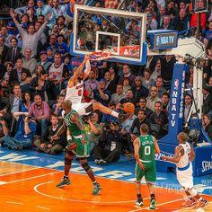 What a shot....Celtics v Knicks Madison Square Garden....ali_essa1