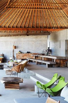 Casa Wabi Foundation by Tadao Ando. Photography by Fernando Farfán for Openhouse Magazine. Home Interior Design, Interior Architecture, Interior And Exterior, Casa Wabi, Balinese Villa, Tadao Ando, Earth Homes, Tropical Houses, Cabana