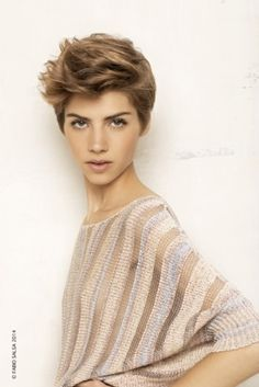 Short hair cut Spring-Summer 2014