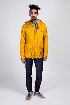 Nigel Cabourn - Surface Jacket Washed Oil