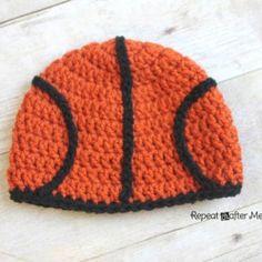 Crochet Basketball Hat Pattern