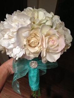 98 best silk flower bouquets images on pinterest bridal bouquets diy silk flower bouquet what do you ladies think wedding bouquet diy flowers mightylinksfo