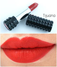 The Happy Sloths: NEW Kat Von D Studded Kiss Lipstick for Fall 2015: Review and Swatches