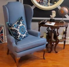 julien wing chair by sam moore for the home pinterest chevy chase condos and apartments