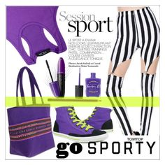 """GO SPORTY"" by selmir ❤ liked on Polyvore featuring Burnetie, Lauren B. Beauty, Revlon, MAC Cosmetics, sportystyle, springscent and tomtoppolyvore"