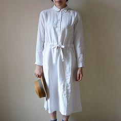 [Envelope Online Shop] <ENYO> Shirts dress the linen bird HOUSE & HOME