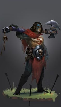 ArtStation - Barbarian Kal-El . (Superman), Bogdan T