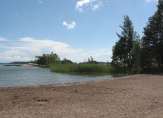 The beach of Wetend (Espoo, Finland).