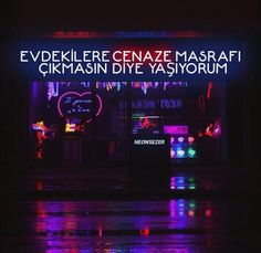 Yaşamak daha masraflı Some Sentences, Funny Share, My Life My Rules, Neon Aesthetic, Quotes And Notes, Galaxy Wallpaper, Humor, Cool Words, Karma