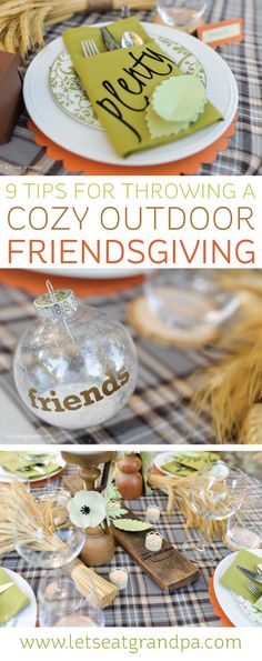 Tips and Tricks for a Cozy Outdoor Friendsgiving