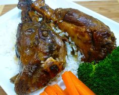 An easy recipe for preparing tender and flavorsome lamb shanks - a cut that is often overlooked. Easy Oven Recipes, Easy Meals, Lamb Shanks Red Wine, Wine Ratings, Cooking Time, Pork, Turkey, Beef, Stuffed Peppers