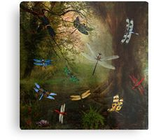 Metal Print of Dragonfly Playground