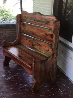 Giving New Life to My Old Bench! With Unicorn Spit!